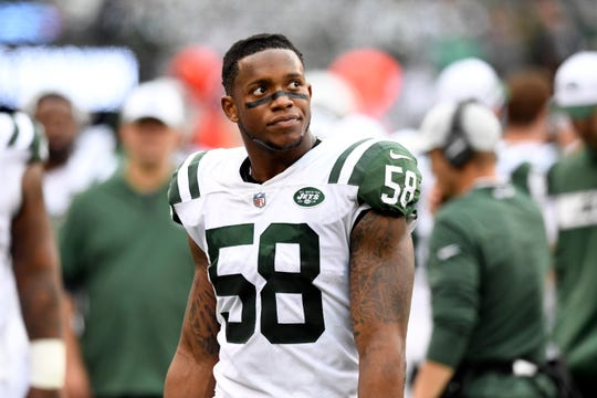 New York Jets linebacker Darron Lee was traded to Chiefs in the first move under interim GM Adam Gase