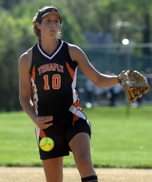 Jessie Shevins was a multi-sport star for Tenafly and ranks among North Jersey's career leaders in pitching victories.