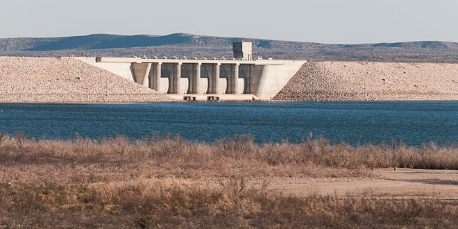 Brantley Lake north of Carlsbad serves as a reservoir for local water users throughout the Pecos River Basin. Ongoing drought conditions lead to lower storage at Brantley and the state began pumping into the reservoir.