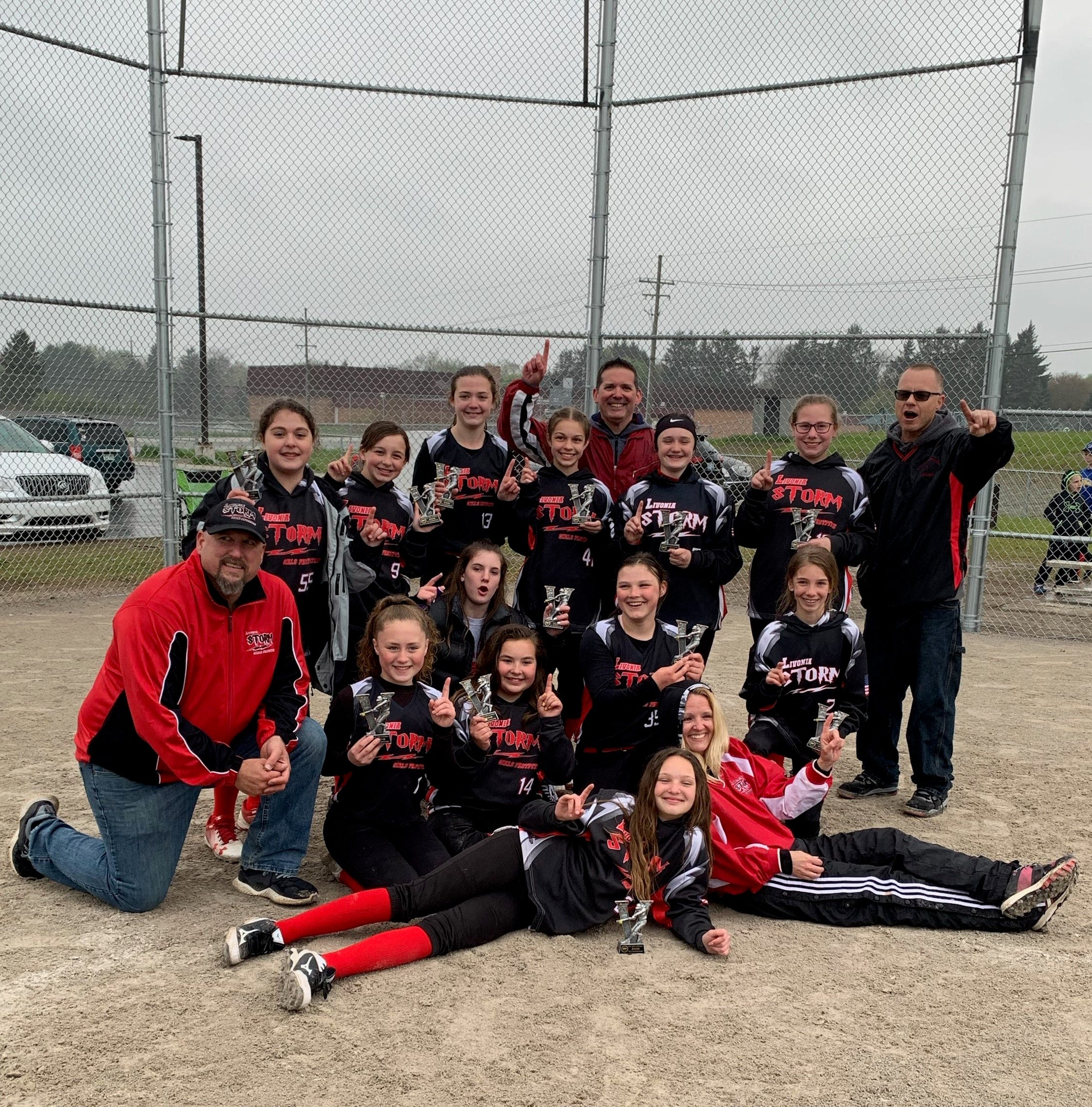 Livonia Storm softball team wins Northville Early Bird Tournament