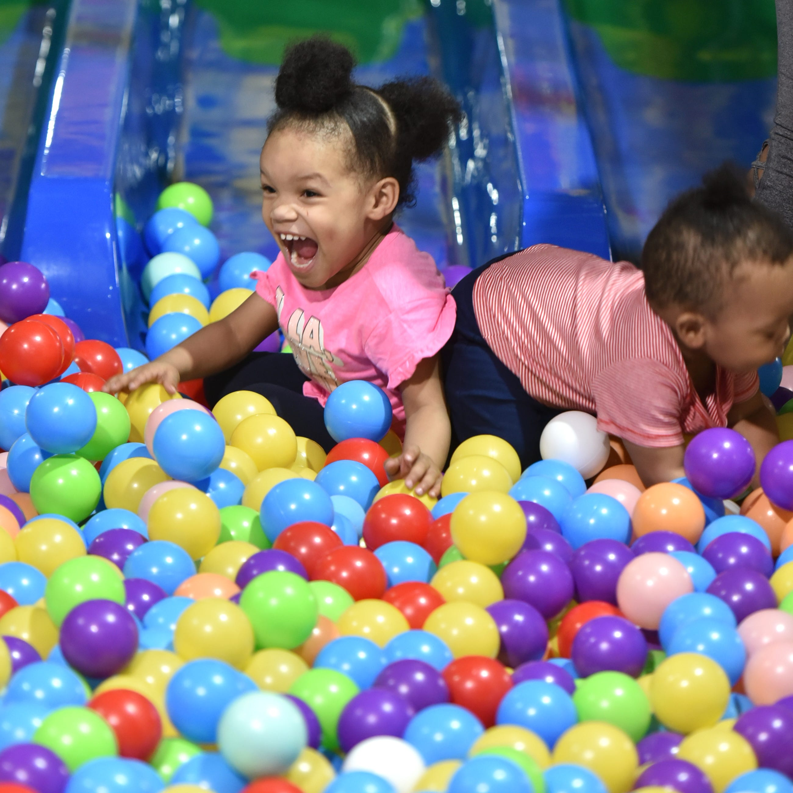 Let's go to the ball pit! New family fun center opens in Westland