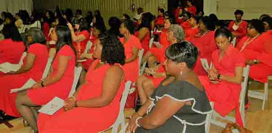 The Opelousas Alumnae Chapter of Delta Sigma Theta Sorority Inc. held its annual Scholarship Tea on May 5 at the J.S. Clark Leadership Academy. Delta Sigma Theta Sorority Inc. is a private, not-for-profit organization whose purpose is to provide assistance and support through established programs in local communities throughout the world.  Since its founding in 1913 by 22 collegiate women at Howard University, more than 200,000 women have joined the organization.