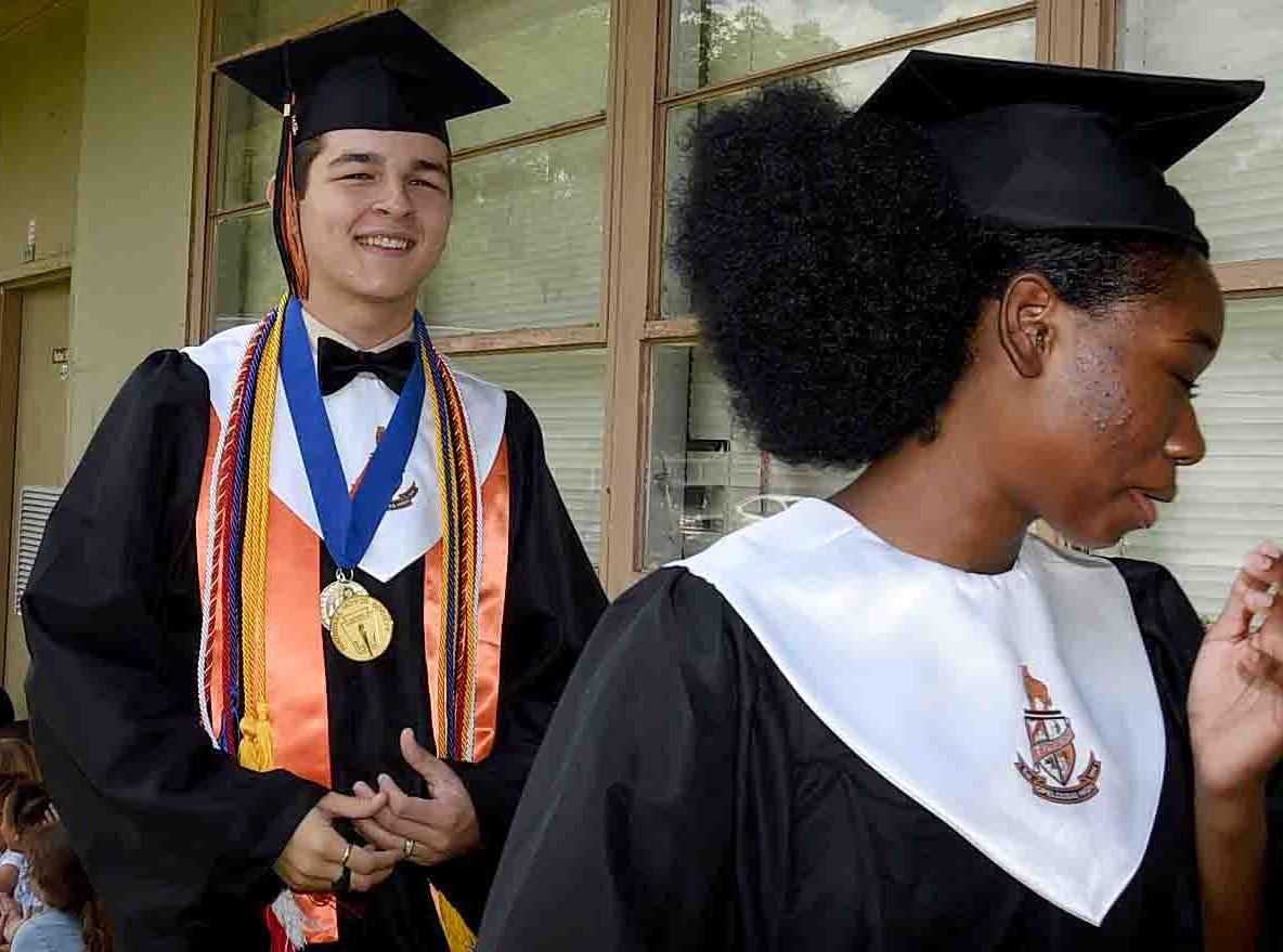 PHOTOS: Grads Return to Park Vista Elementary