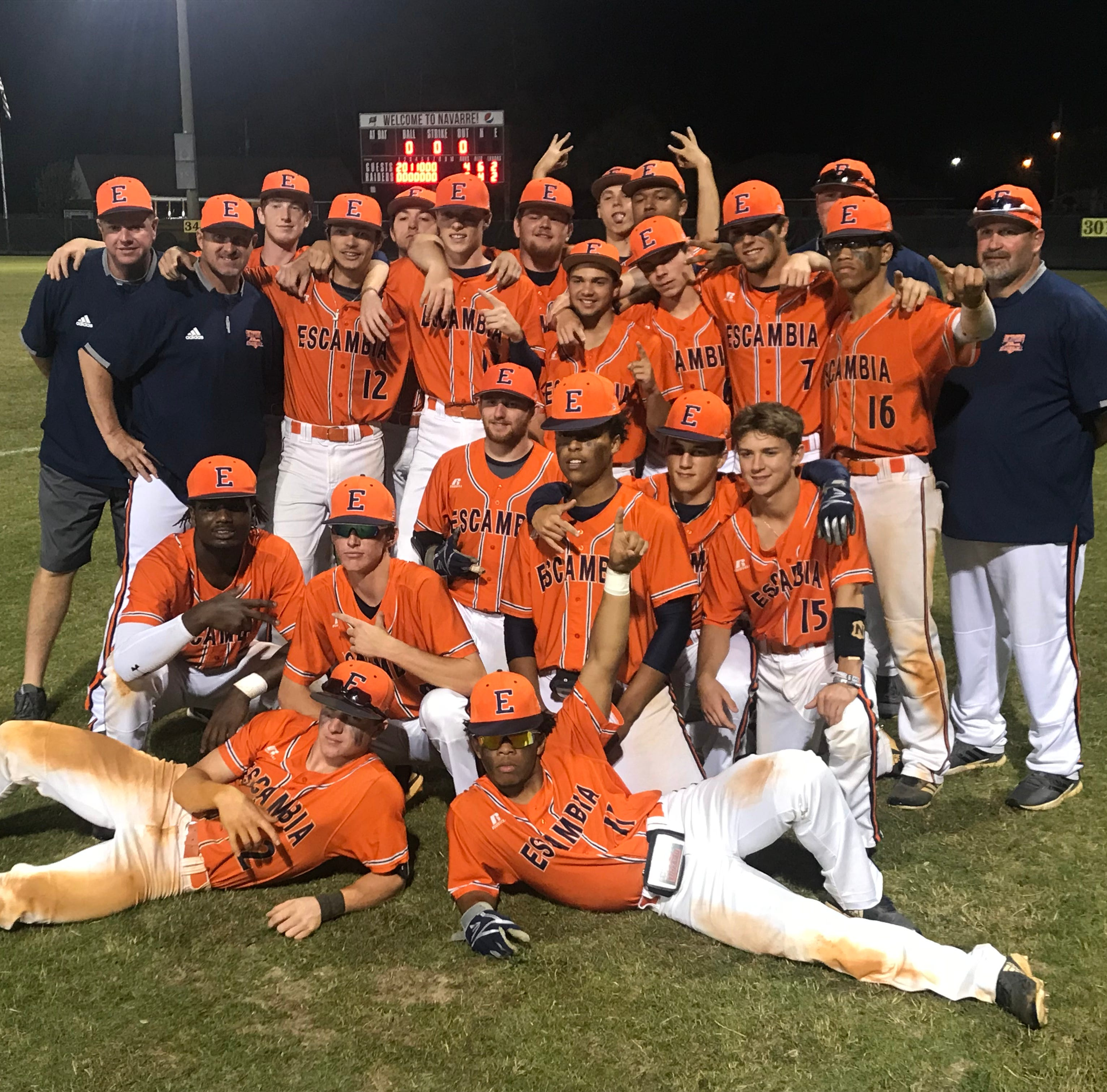 Escambia's Browne hurls another postseason gem, sets up Pine Forest rematch