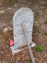 The Bethlehem Methodist Episcopal Cemetery.