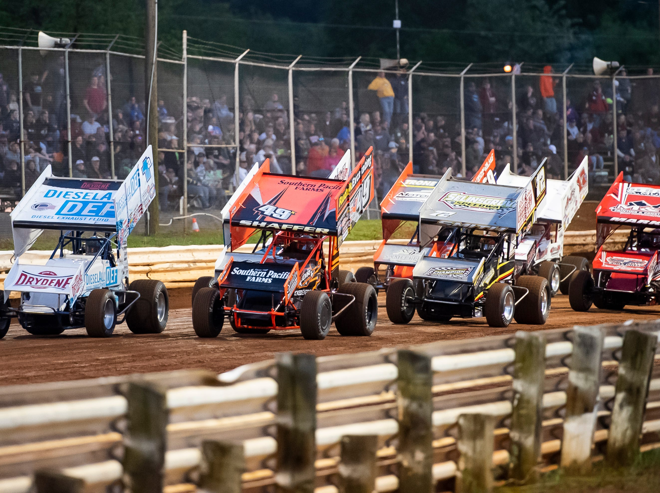 World of Outlaws Gettysburg Clash at Lincoln Speedway in Abbottstown on Wednesday, May 15, 2019.