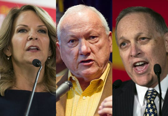 Kelli Ward, Russell Pearce and Andy Biggs