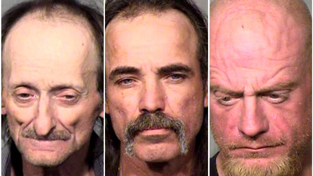 3 men arrested in theft of Lamb of God guitars from Slayer show in Phoenix