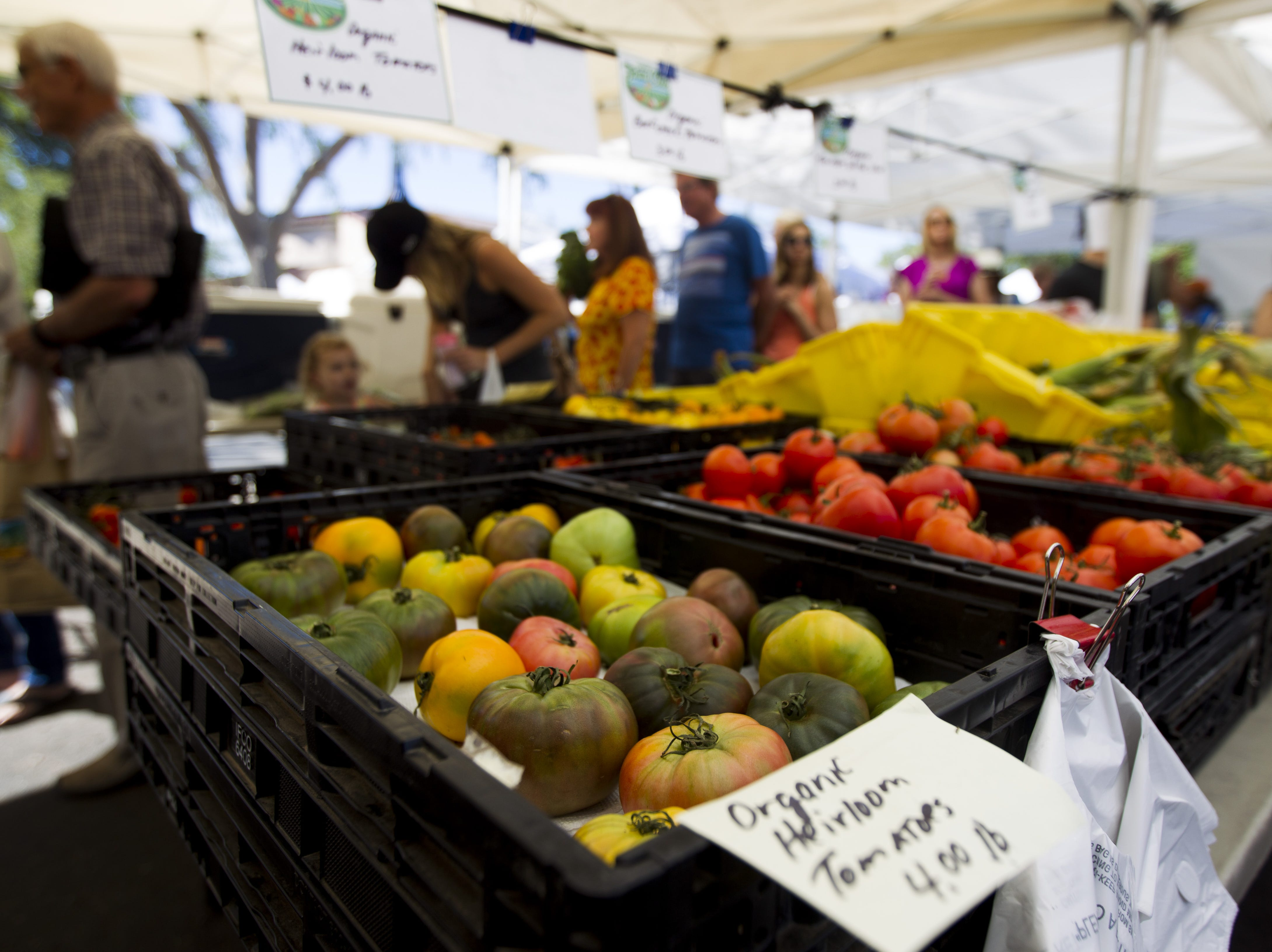 SHOP THE FARMERS MARKET: Check out the bounty grown or created by Arizona farmers and artisans at one of the many farmers markets in the Phoenix area.