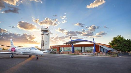 Falcon Field Airport in Mesa.