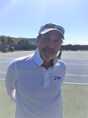 Phoenix Country Day School boys tennis coach Jerry Keever.