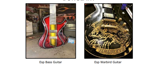 Silent Witness is offering a reward of up to $1,000 for information leading to the return of the guitars at 480-948-6377. You can also leave an anonymous tip on the silent witness website at silentwitness.org.