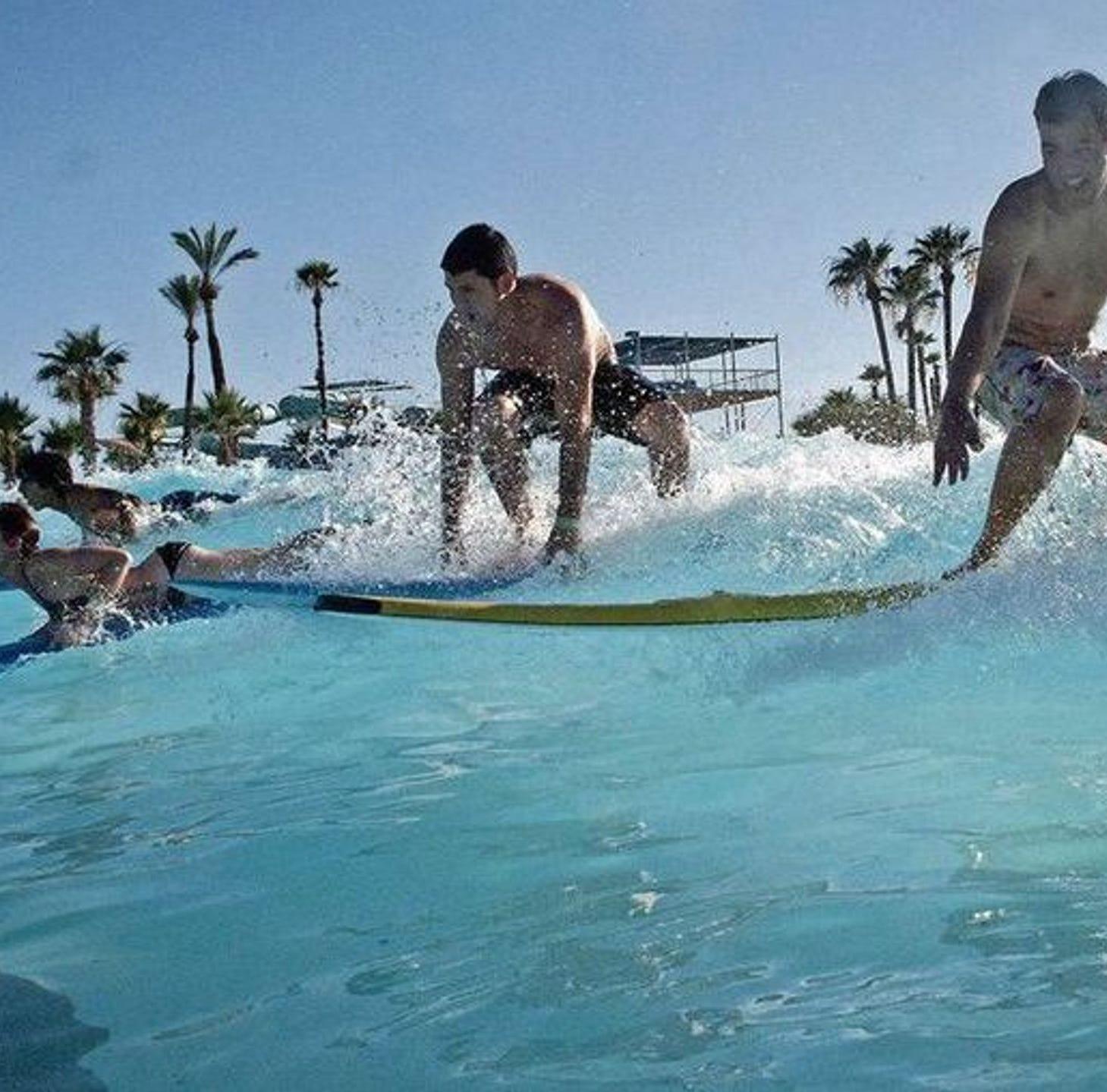 Las mejores atracciones en parques acuáticos del área de Phoenix