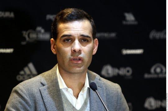 Rafael Márquez, directivo del Atlas.