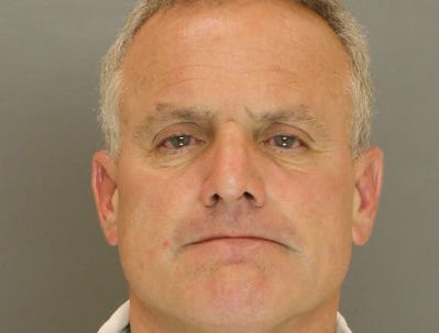 Tony Hartlaub, arrested for retail theft.