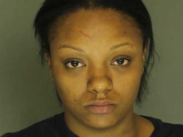 Bianca Banks, arrested for aggravated assault, simple assault and harassment.