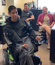 Jesse Rojas is the first northern Nevada graduate from UNR's Path to Independence program.