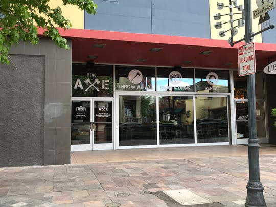 Reno Axe, which features axe throwing and a full bar, brings the axe bar trend to downtown Reno with its May 2019 opening.