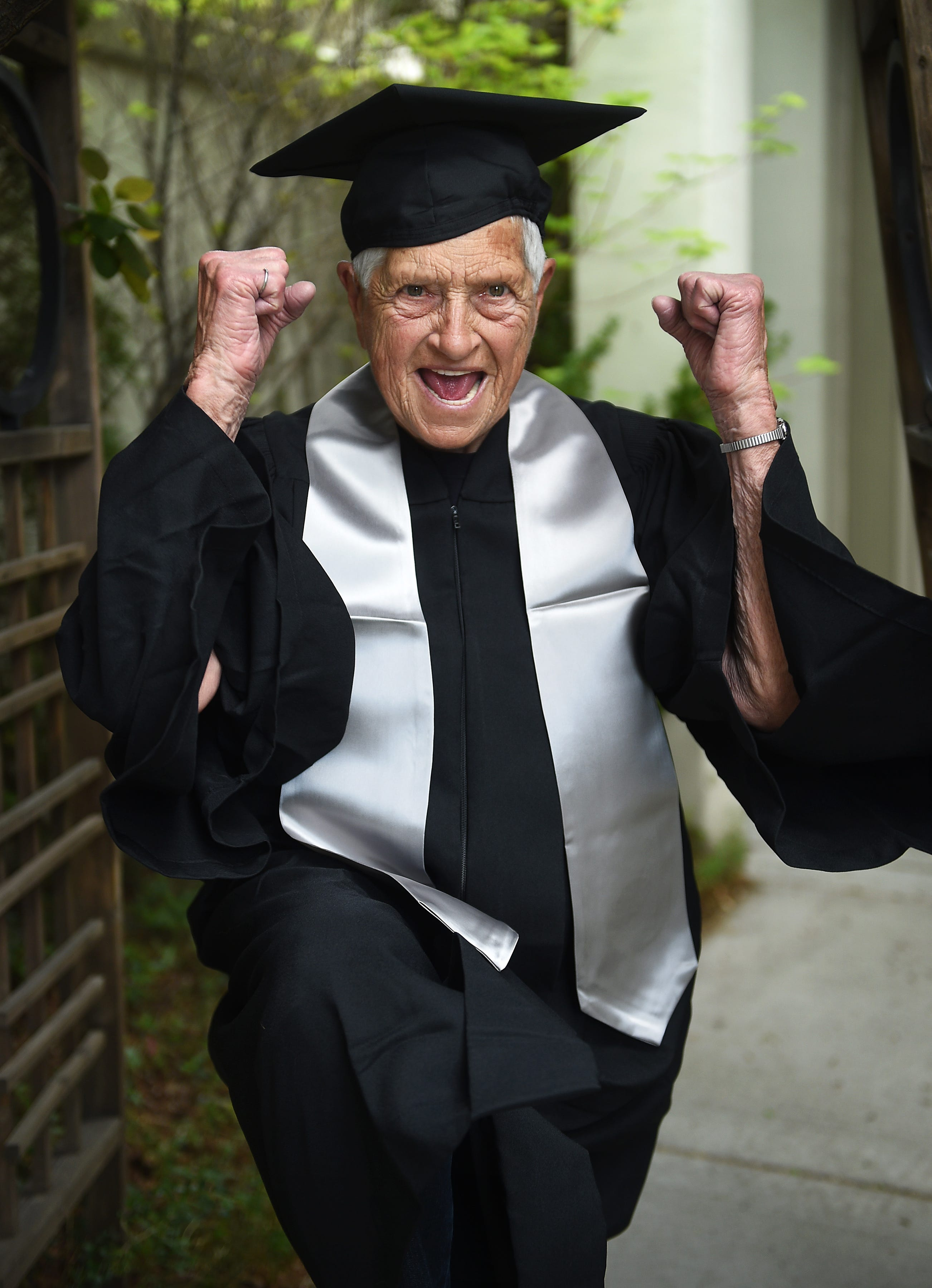cfce774cad2 UNR graduation  90-year-old to walk 45 years after earning degree