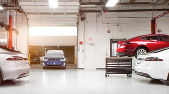 This Tesla video provides a quick look at its automotive repair and service options.