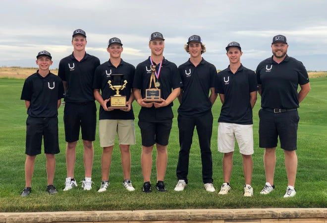 U-Prep's boys golf team won the 2019 NSCIF Masters championship at The Links at Rolling Hills on Tuesday, May 14, 2019.