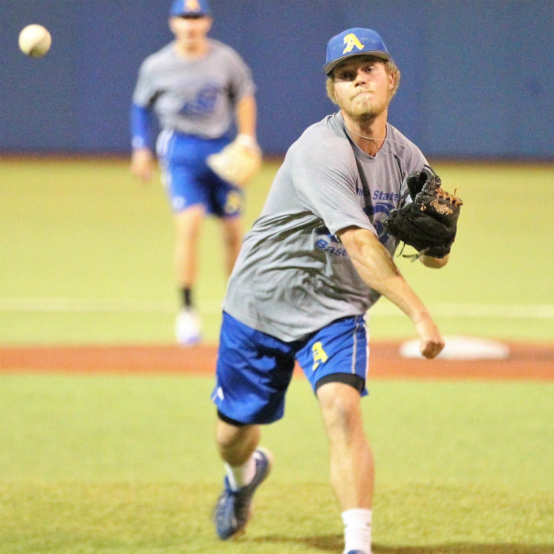 Angelo State pitcher Josh Barnett hoping to lead hometown team to World Series