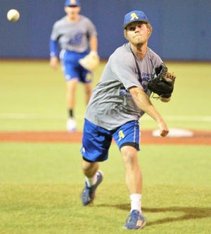 Angelo State University pitcher Josh Barnett hopes to lead the Rams back to the NCAA Division II College World Series. Barnett is a San Angelo Central graduate, but he didn't pitch much for the Bobcats.