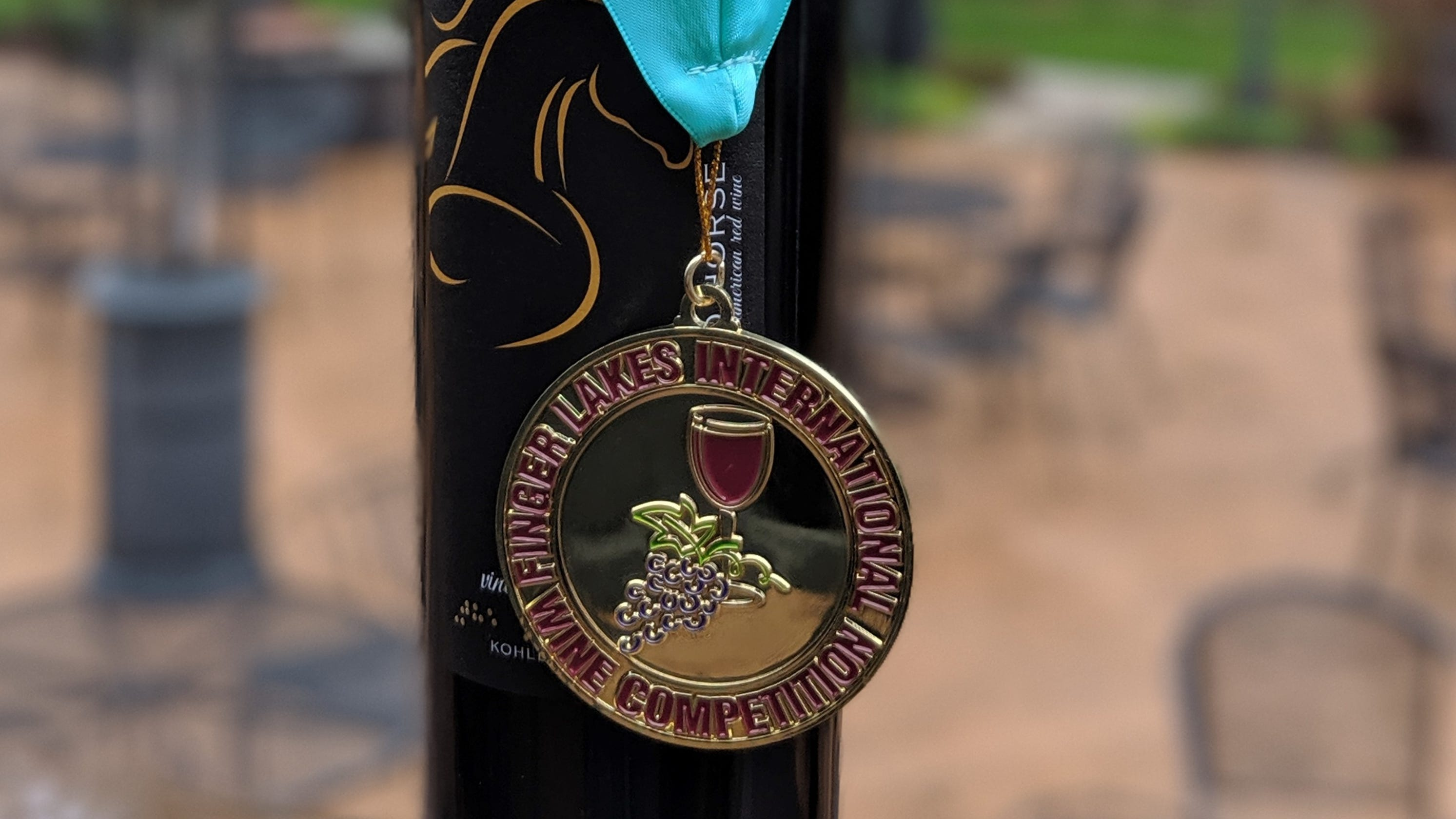 The Blind Horse In Kohler Wins Double Gold For Wine At