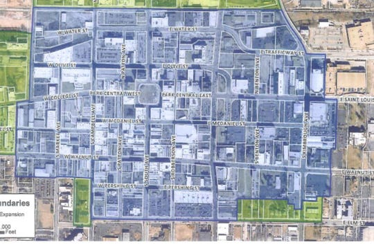 Answer Man: What are the boundaries of downtown Springfield?