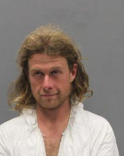 James Louis Jordan, 30, faces federal charges in an attack Saturday, May 11, 2019, on two Appalachian Trail hikers that left a man dead and a woman hospitalized with severe stab wounds. MUST CREDIT: Southwest Virginia Regional Jail Authority