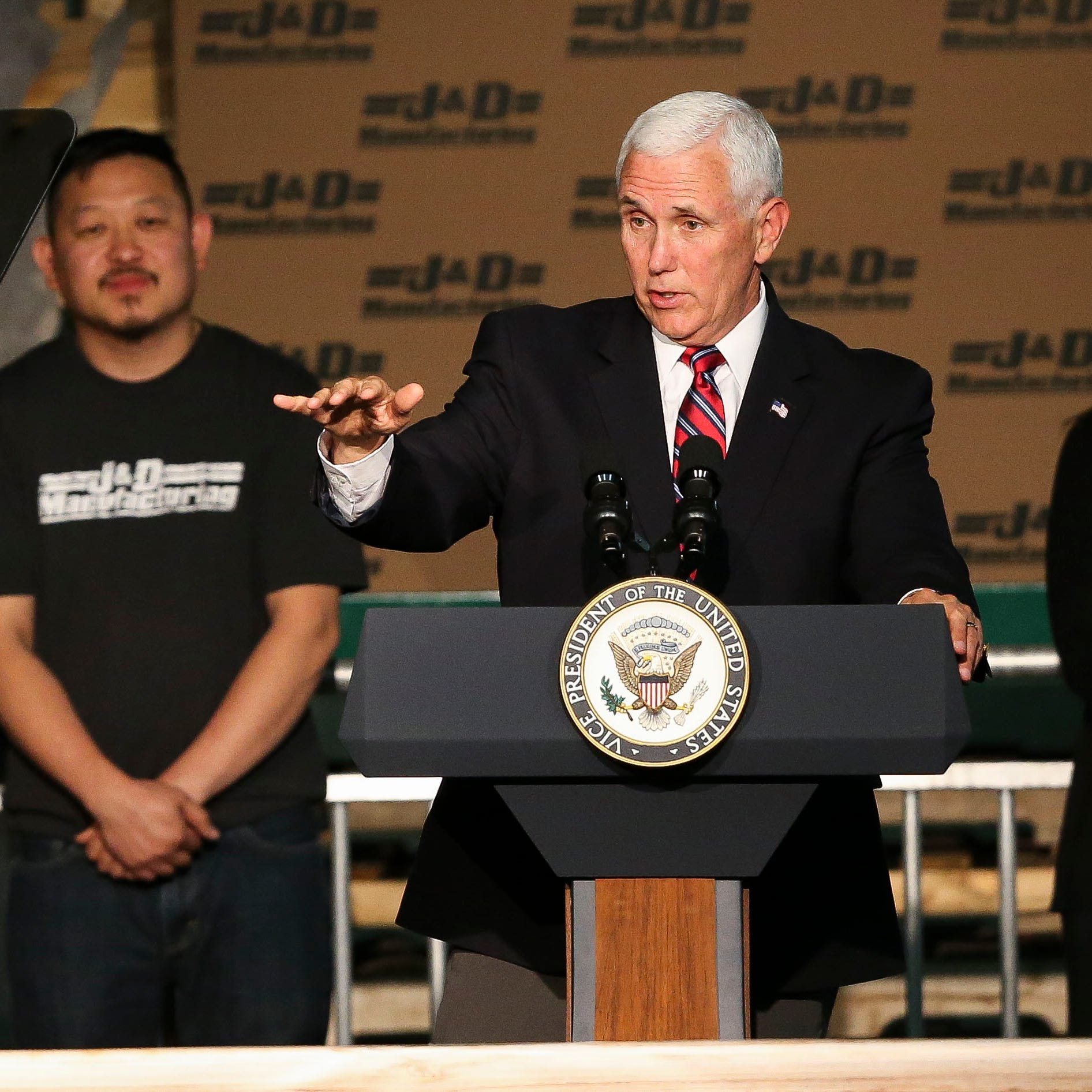 'When the heartland succeeds, America succeeds': VP Pence pushes proposed new trade deal