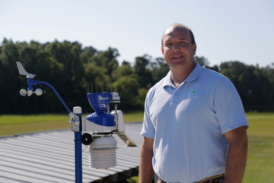 Ed Mansouri is the CEO of WeatherSTEM, a platform that collects hyperlocal weather data from weather stations all around the country and makes the information available to users via the web, social media and the WeatherSTEM app. There are over 40 in Tallahassee, including one at Apalachee Park