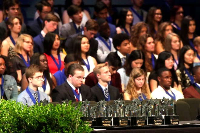 Leon County high school seniors are recognized at the 14th Annual Best & Brightest Awards Ceremony Wednesday, May 15, 2019.  Outstanding students are awarded scholarships for their leadership skills, academic accomplishments and community service involvement.