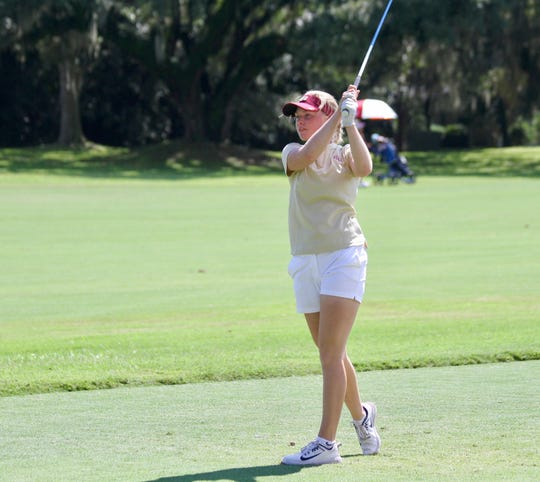 Frida Kinhult has shot at par or better in 16 of her 23 rounds for FSU this season.