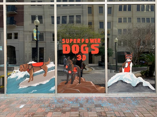"For all her murals, including her most recent for ""Superpower Dogs 3D,"" Kollet Probst wants patrons to see themselves reflected back as well."