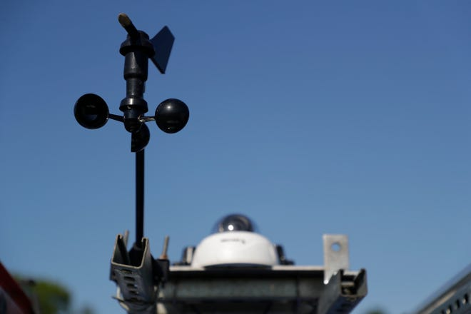 WeatherSTEM's Mobile Weather Experience Vehicle (MWEV) serves as a mobile weather station.