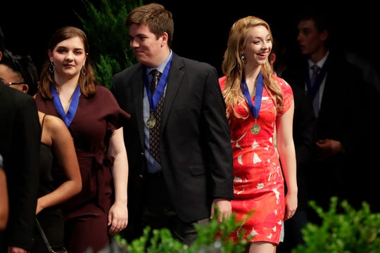 Leon County high school seniors are shown at the Best & Brightest Awards Ceremony in 2019. The 2020 honorees will be celebrated at a virtual ceremony at 6:30 p.m.Wednesday, May 13, that will be carried on Comcast channel 23 and Facebook live.