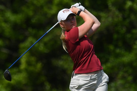 FSU freshman Frida Kinhult's 70.23 stroke average this season is the best in the country.