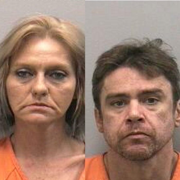 Stuart couple accused of trafficking crystal methamphetamine