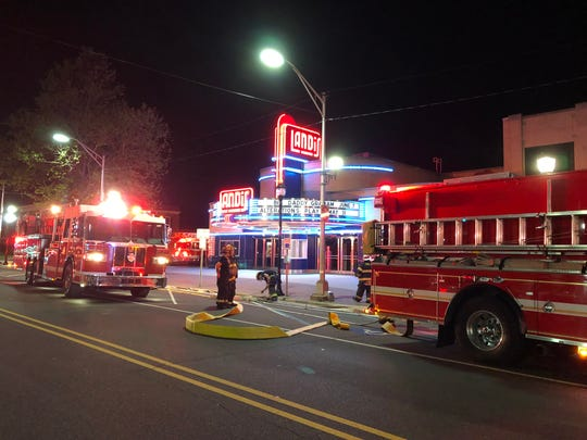 Alarm brings firefighters to Landis Theater in downtown Vineland May 15, 2019