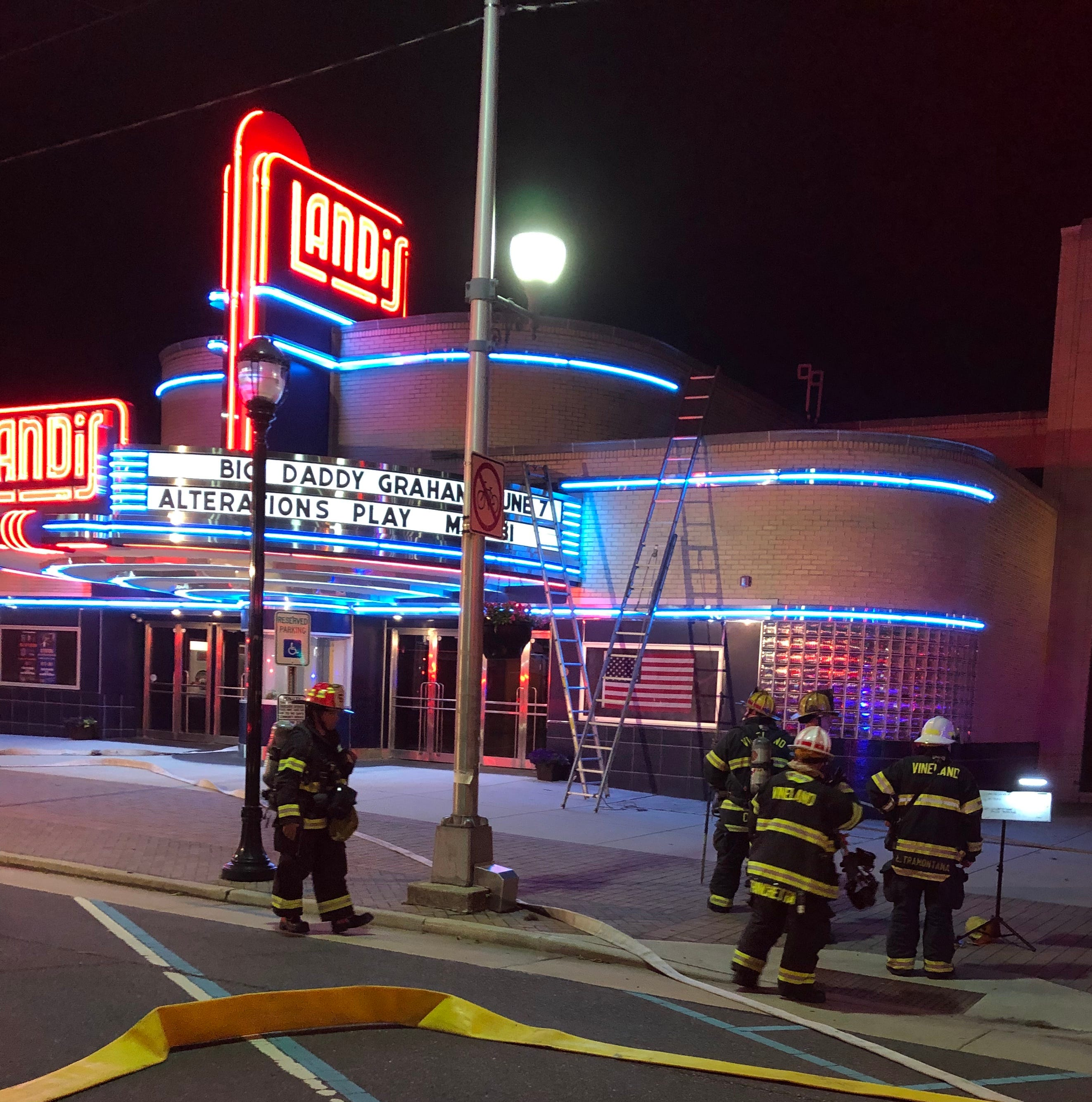 Fire at Landis Theater tracked to an appliance, fire official says