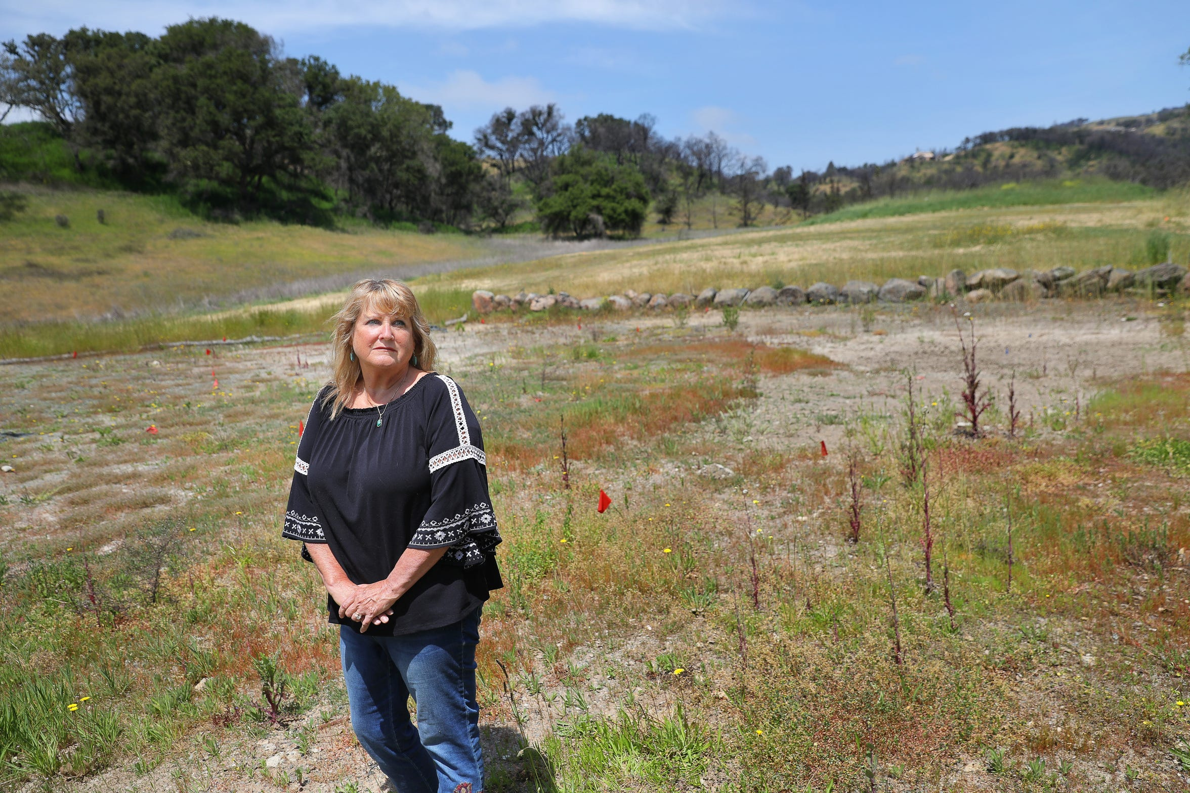 Lynette Kronick, who lost her Santa Rosa area home in the Tubbs fire, is still waiting for construction to begin on rebuilding her home after encountering problems with Chiaramonte Construction & Plumbing Inc. of Tulare.