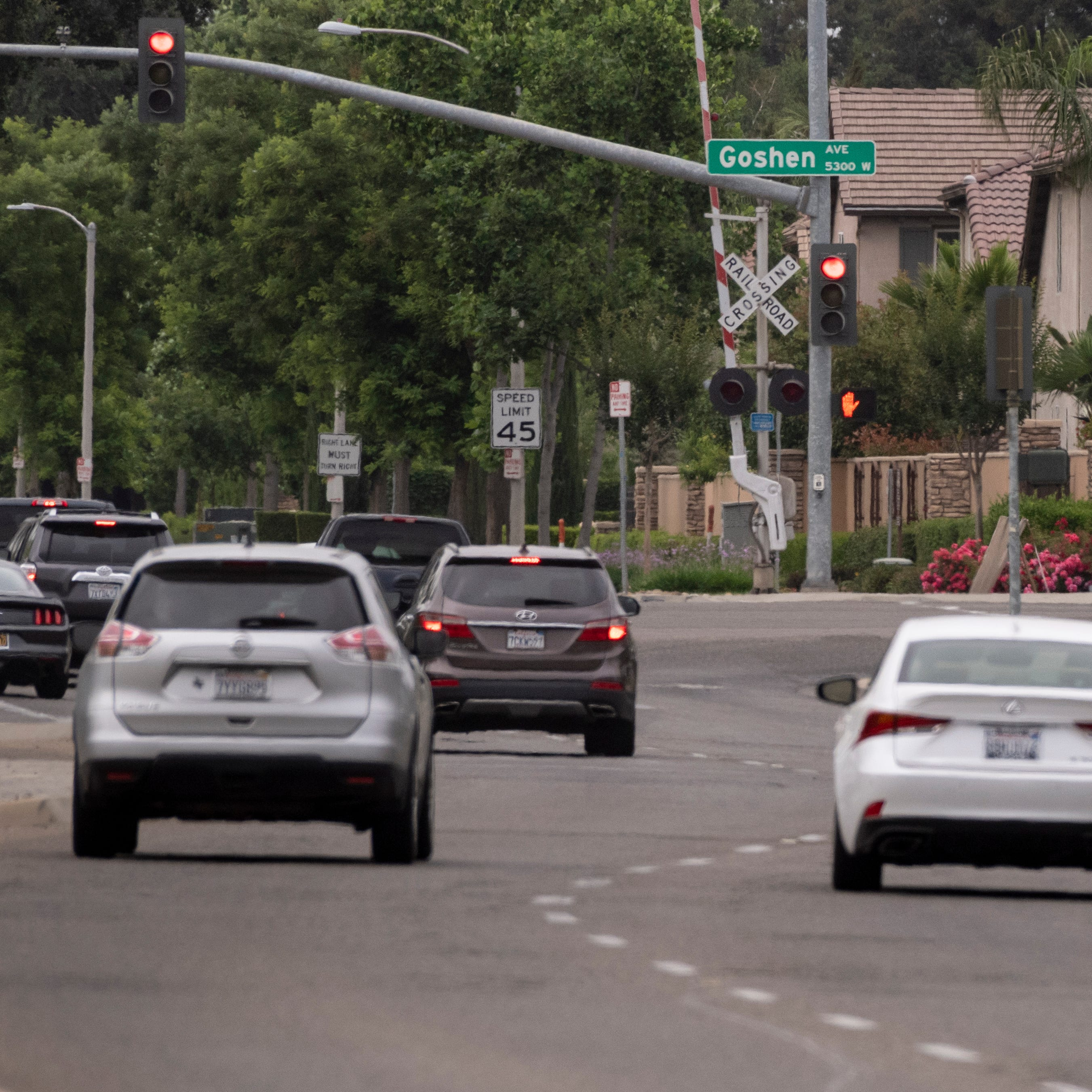 Expect traffic delays through the weekend at this Visalia intersection