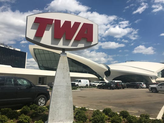 TWA Hotel at JFK Airport Terminal 5.