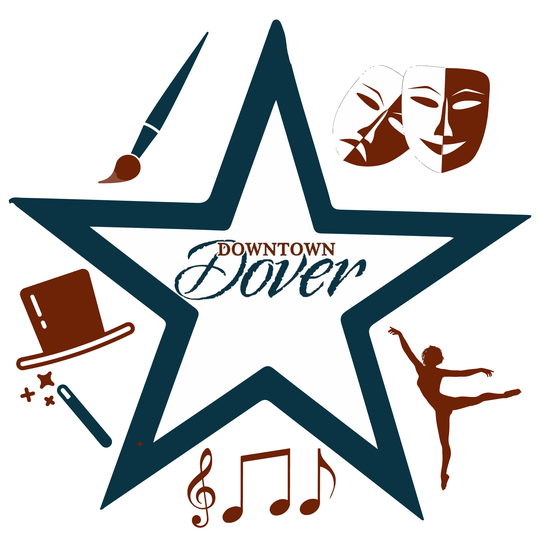 This logo will designate busking spots in Dover.