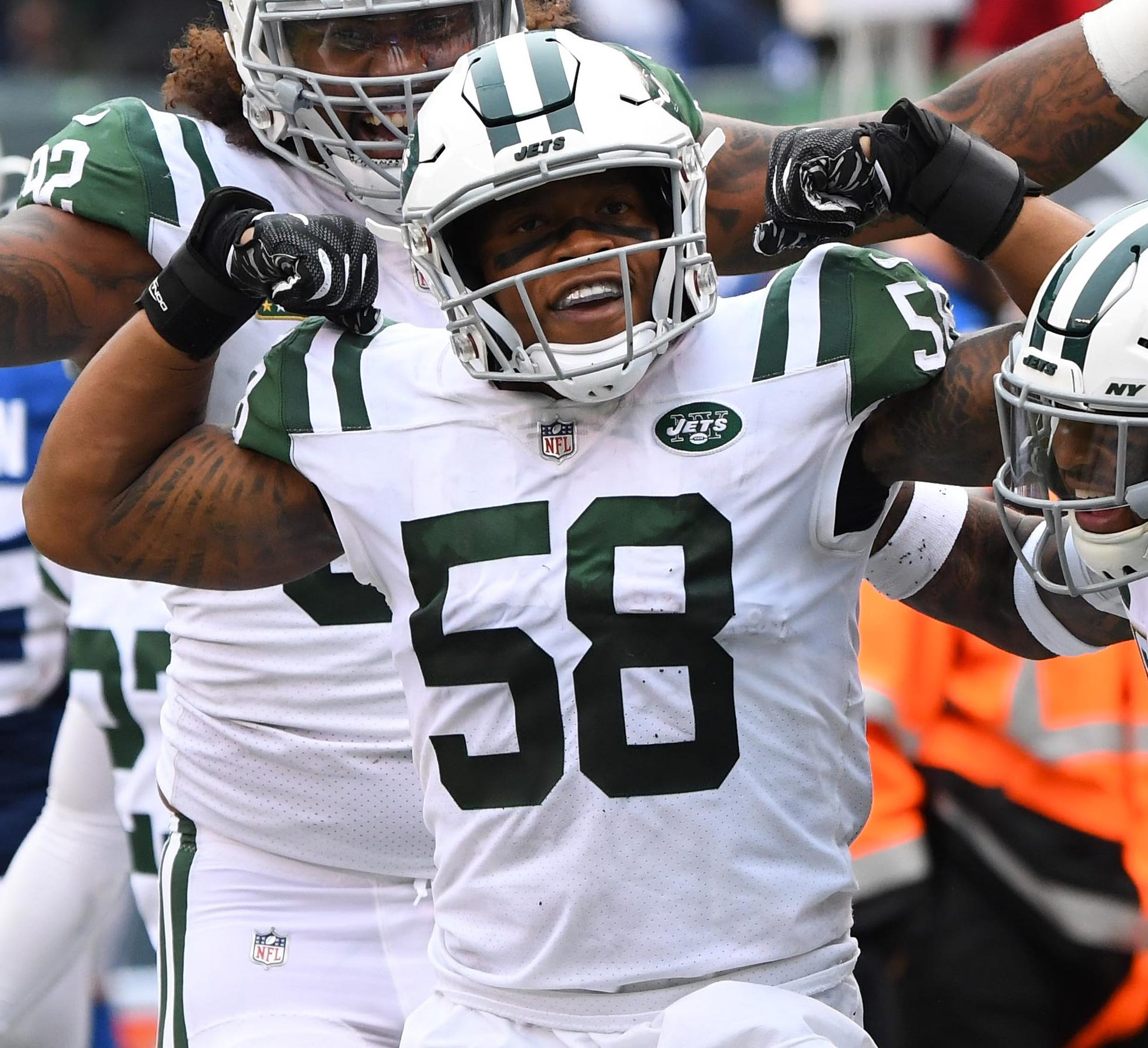 Darron Lee started 36 games in three seasons with the Jets.