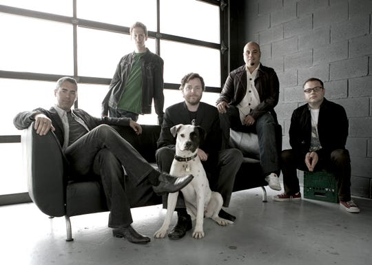 Barenaked Ladies band members, as seen a year before 'The Big Bang Theory' premiered in 2007, included Ed Robertson, left, Jim Creeggan, Kevin Hearn, Tyler Stewart and Steven Page.