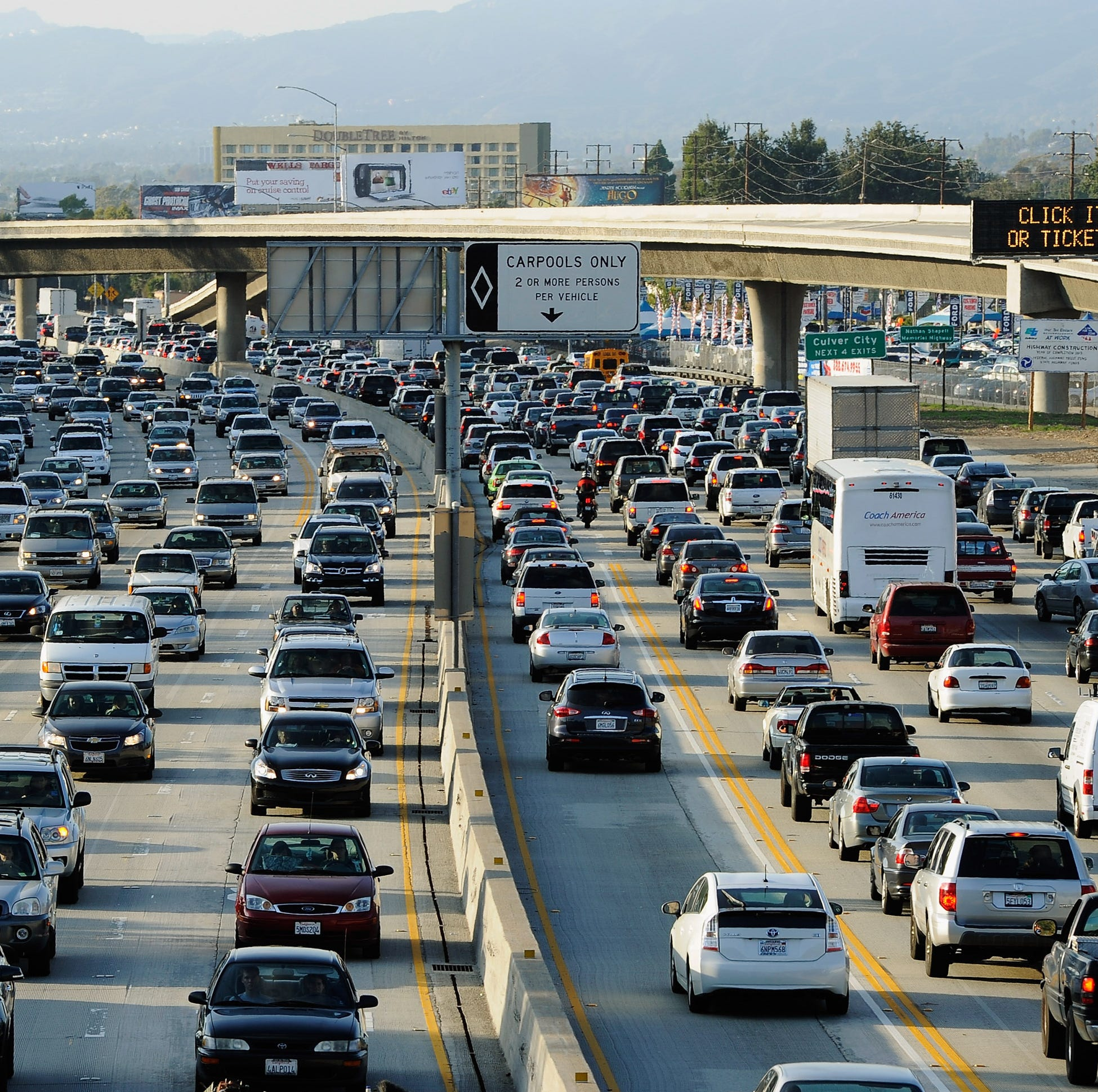 Is California ready to ban gas-powered cars? Not yet. But they're thinking about it
