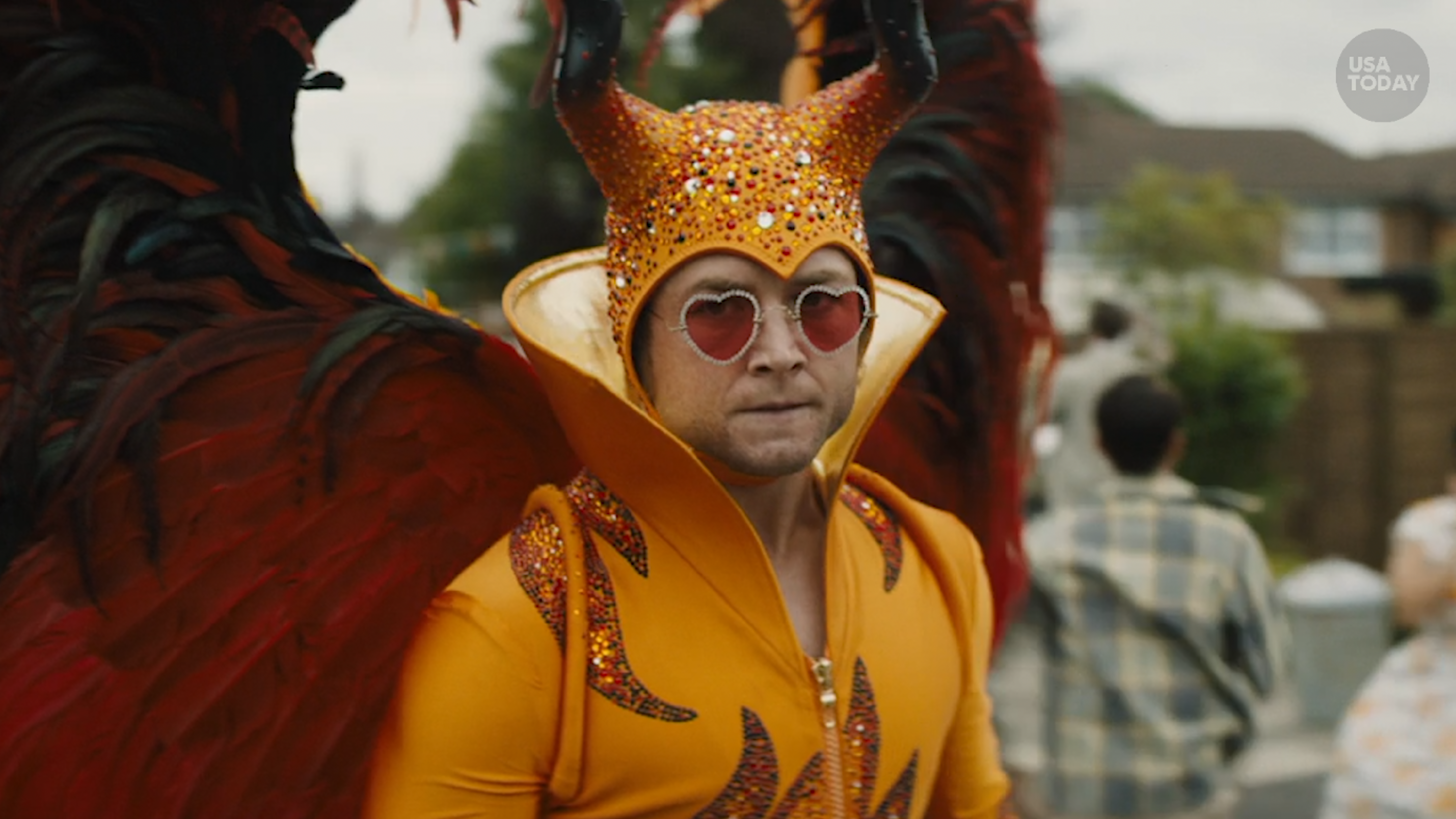 ee93311c 'Rocketman' Taron Egerton is 'at peace' as R-rated Elton John film lifts  off at Cannes