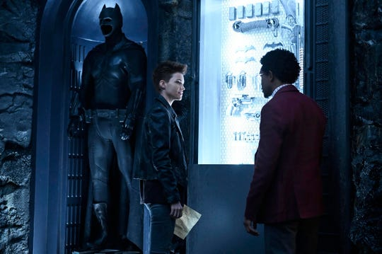 "Ruby Rose as Kate Kane and Camrus Johnson as Luke Fox in CW's latest superhero series, ""Batwoman."""